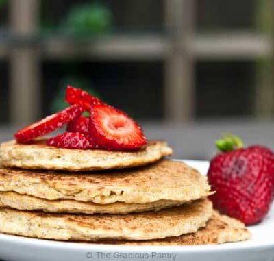 Clean Eating Quinoa Pancakes Recipe