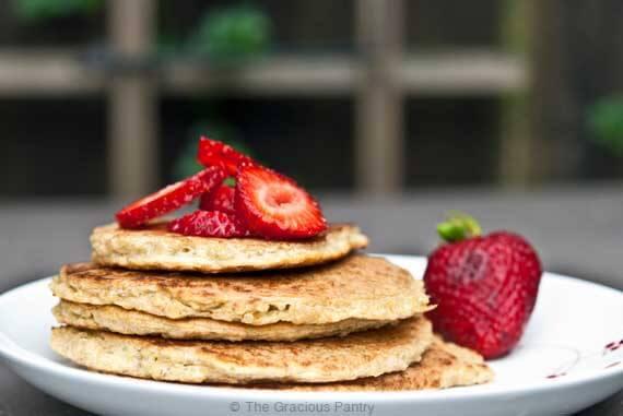 Clean Eating Quinoa Pancakes