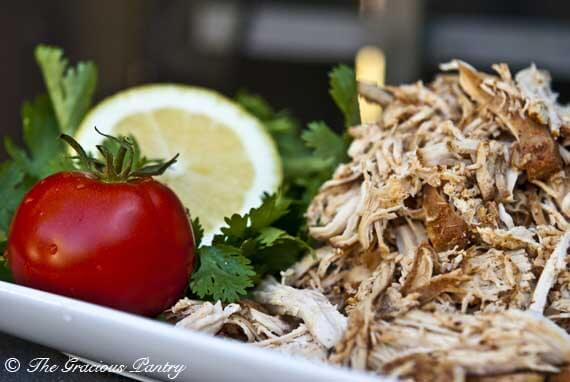 Clean Eating Easy Slow Cooker Mexican Chicken