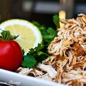 Clean Eating Easy Slow Cooker Mexican Chicken Recipe