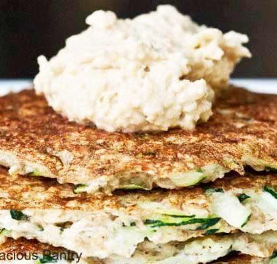 Clean Eating Breakfast Zucchini Fritters Recipe