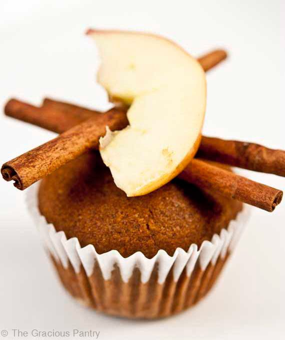 Clean Eating Cinnamon Apple Muffins Recipe
