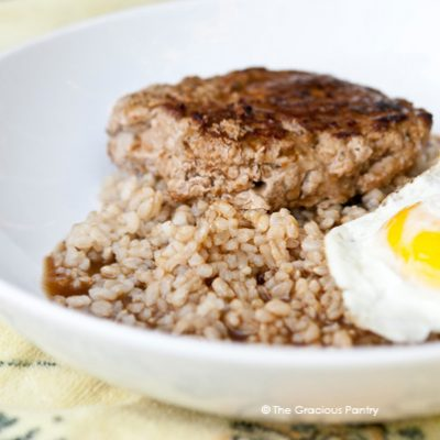 Clean Eating Loco Moco Recipe