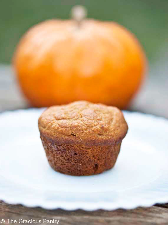Clean Eating Pumpkin Spice Mini Muffins Recipe