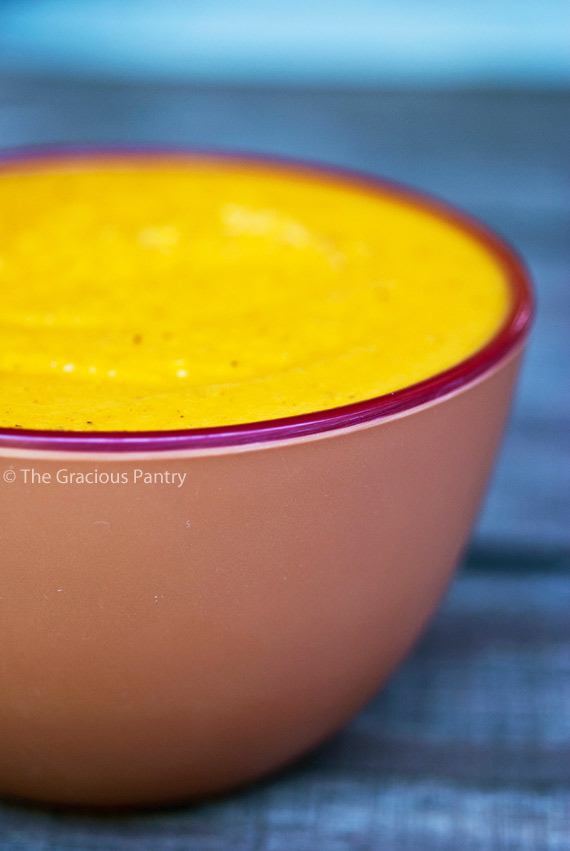 Clean Eating Curried Sweet Potato Soup Recipe