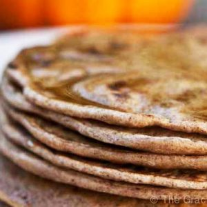 Clean Eating Pumpkin Spice Pancakes