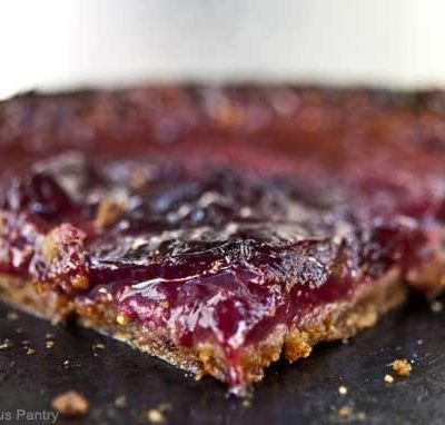 Clean Eating Plum Tart Recipe