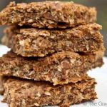 Clean Eating Coconut Lime Oat Bars