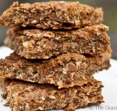 Clean Eating Coconut Lime Oat Bars Recipe