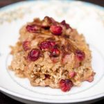Clean Eating Pumpkin Oatmeal Casserole