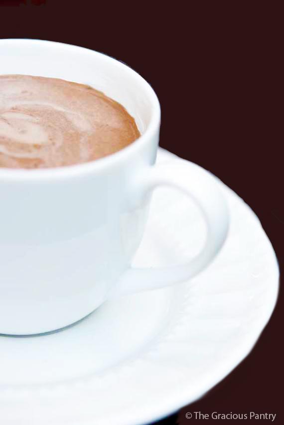Clean Eating Sweet Potato Hot Cocoa