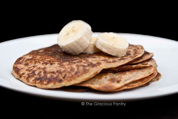 Clean Eating Banana Pancakes Recipe