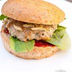 Clean Eating Baked Turkey Burgers Recipe