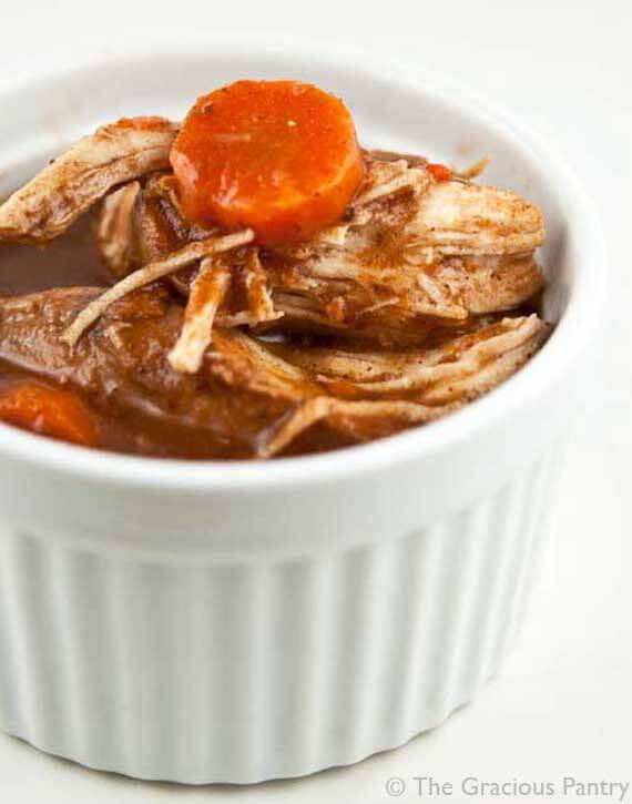 Clean Eating Slow Cooker Cinnamon Chicken