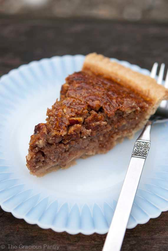 Clean Eating Pecan Pie Recipe