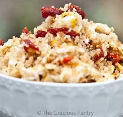 Breakfast Couscous With Sun Dried Tomatoes