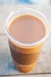 Clean Eating Coconut Latte Recipe