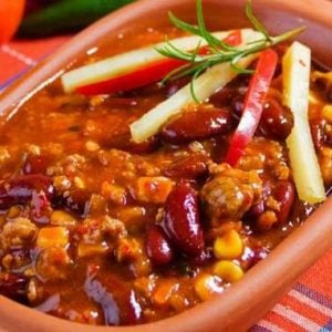 Clean Eating 2 Bean Turkey Chili