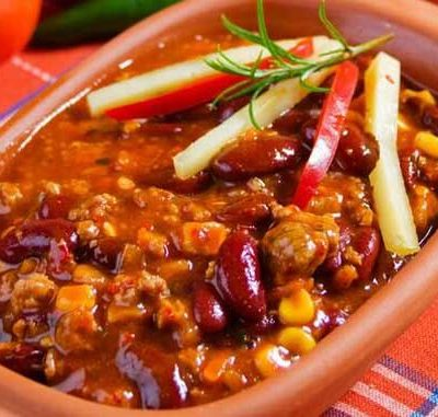 Clean Eating 2 Bean Turkey Chili Recipe