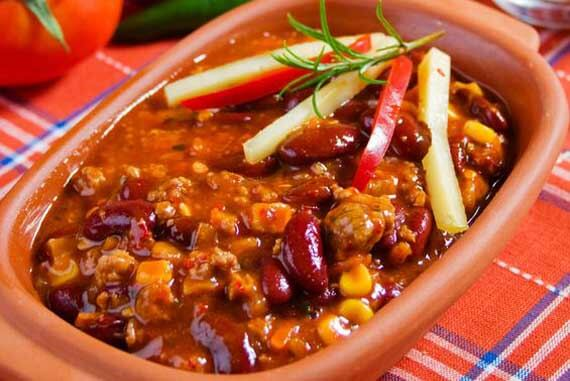 Clean Eating 2 Bean Turkey Chili Recipe