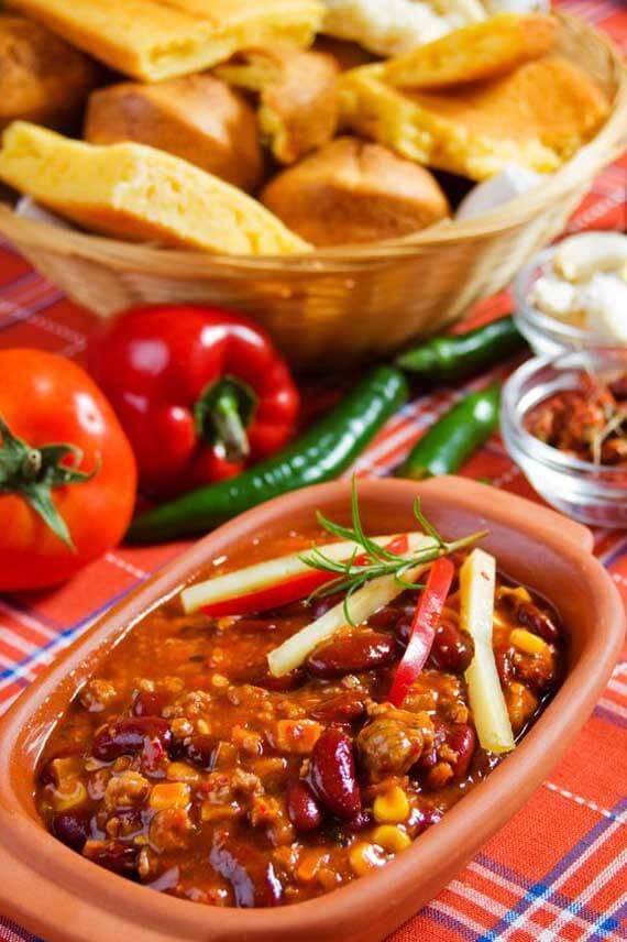 Clean Eating 2 Bean Turkey Chili