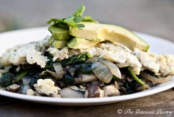 Clean Eating Man's Omelet