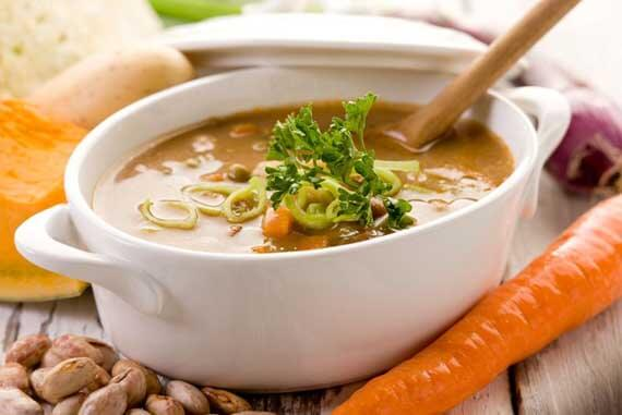 """Clean Eating """"Build It Yourself"""" Vegetable Soup Recipe"""