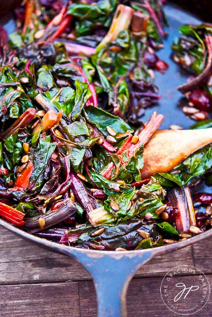 Rainbow Chard Recipe Healthy Side Dishes The Gracious Pantry