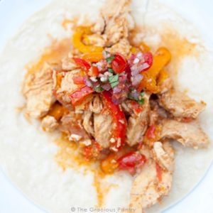 Clean Eating Chicken Fajitas Recipe