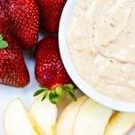 Clean Eating Peanut Butter Fruit Dip Recipe