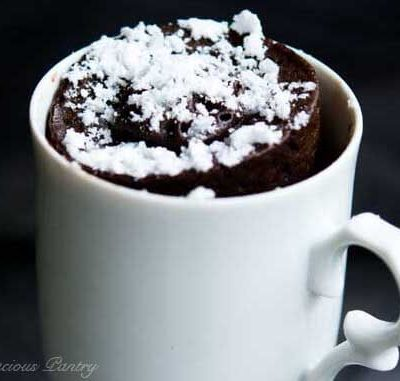Clean Eating Chocolate Mug Cake Recipe