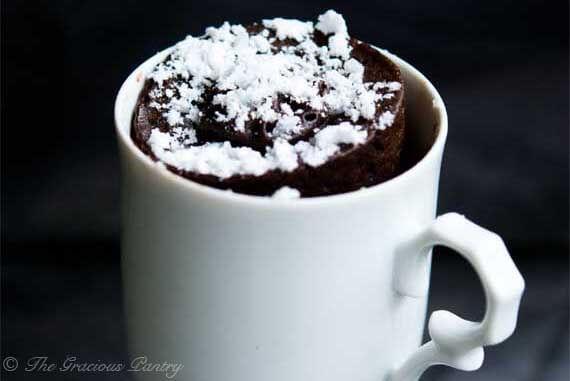 Clean Eating Chocolate Mug Cake
