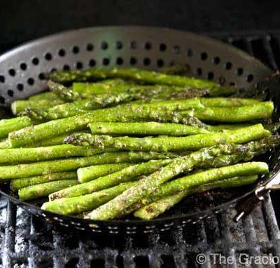 Clean Eating BBQ Garlic & Dill Asparagus
