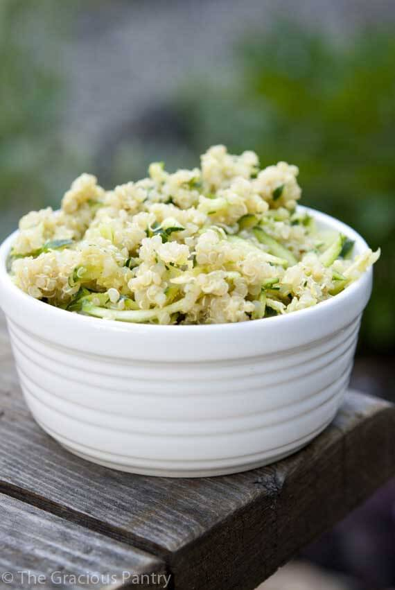 Clean Eating Green Quinoa