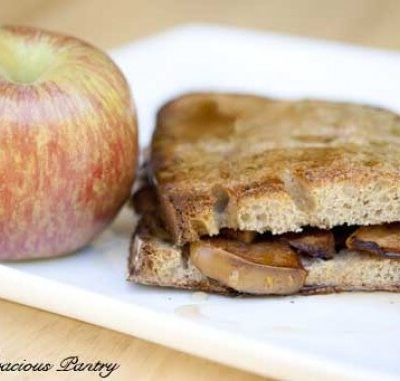 Clean Eating Apple Stuffed French Toast