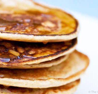 Clean Eating Buttermilk Pancakes Recipe