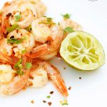 Clean Eating Garlic Lime Shrimp Recipe