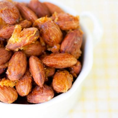 Clean Eating Lemon & Honey Almonds Recipe