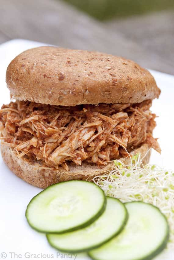 Clean Eating Slow Cooker Pulled Pork Sandwiches Recipe