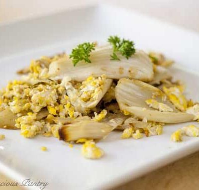 Clean Eating Egg And Fennel Scramble
