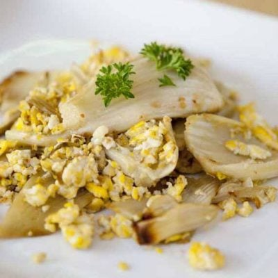Egg And Fennel Scramble Recipe
