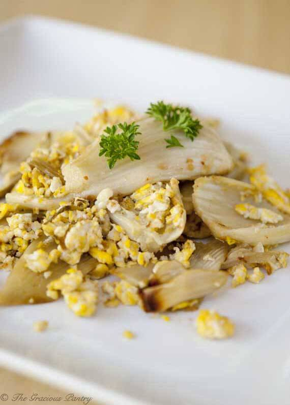 Clean Eating Eggs And Fennel Scramble