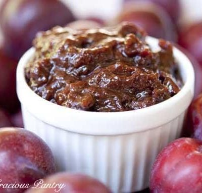Clean Eating Plum Butter