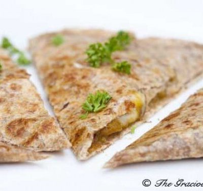 Clean Eating Pumpkin Quesadilla