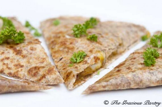 Clean Eating Pumpkin Quesadilla Recipe