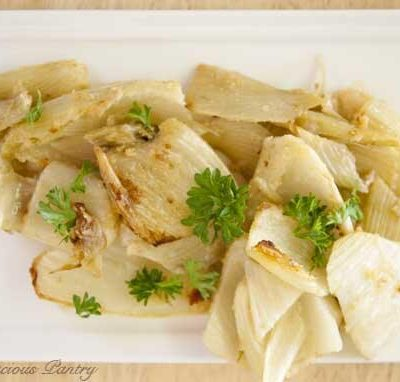 Clean Eating Baked Parmesan Fennel
