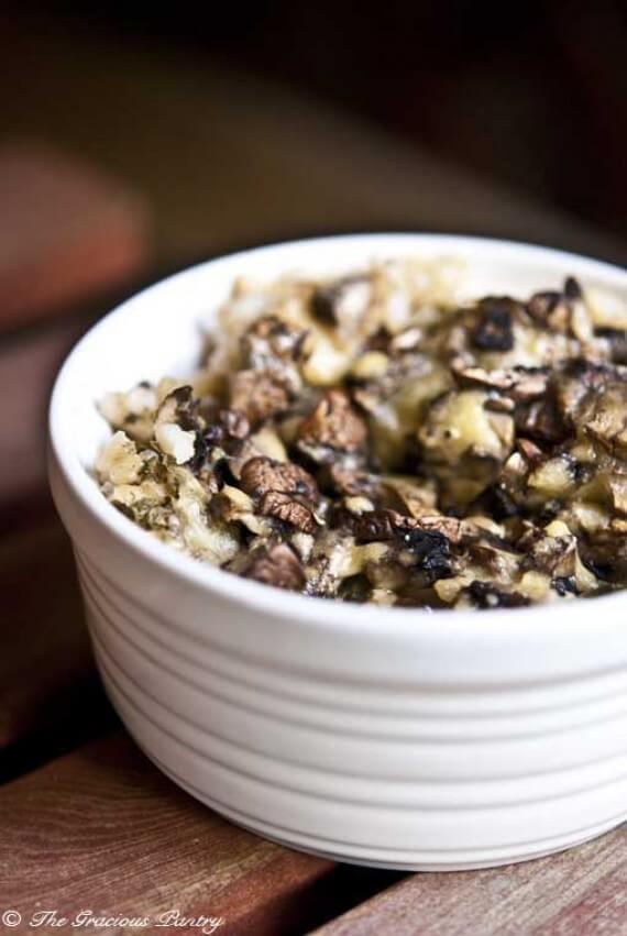 Brown Rice Mushroom Casserole