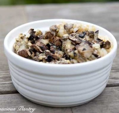 Clean Eating Mushroom & Brown Rice Casserole