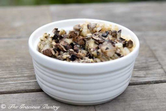 Brown Rice Mushroom Casserole Recipe
