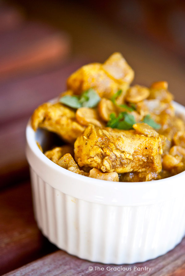 Clean eating chicken korma recipe the gracious pantry clean eating chicken korma recipe forumfinder Gallery